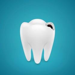 dente com carie